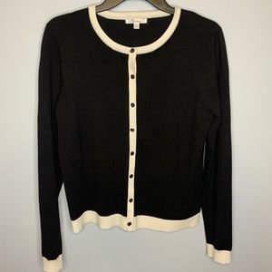 3 for $20 89th & Madison Black & Cream Cardigan